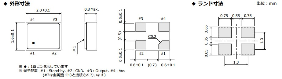 25mhz有源晶振|2016晶振|osc振荡器|3.3v|river大河